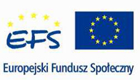 Europejski Fundusz Społeczny